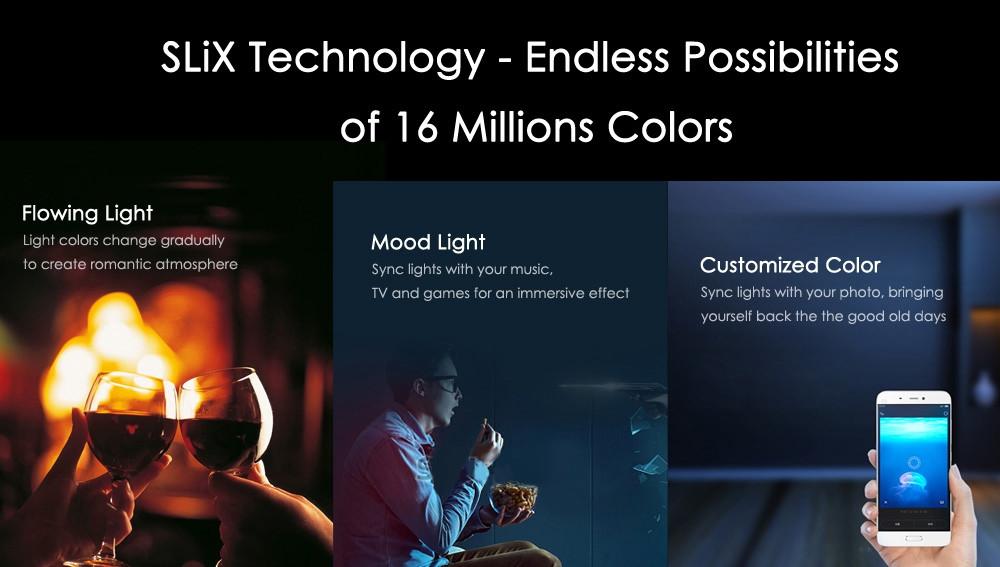 XIAOMI MI YEELIGHT LED - CHYTRÁ led ŽÁROVka osvětlení bluetooth úsporná 9w 6500k bezdrátový super světlo xiaomimarket istage  nastavení
