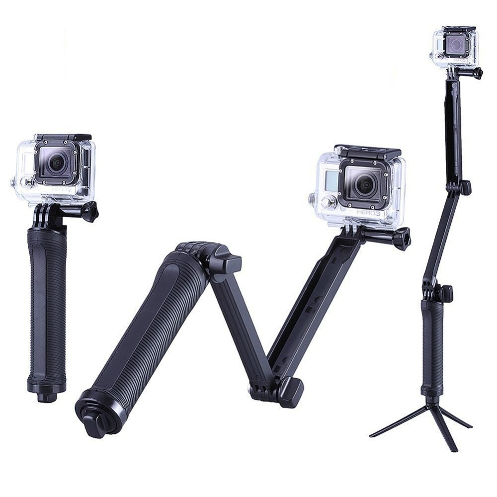 GoPro-Accessories-Collapsible-3-Way-Monopod-Mount-Camera-Grip-Extension-Arm-Tripod-Stand-for-Gopro-Hero-1