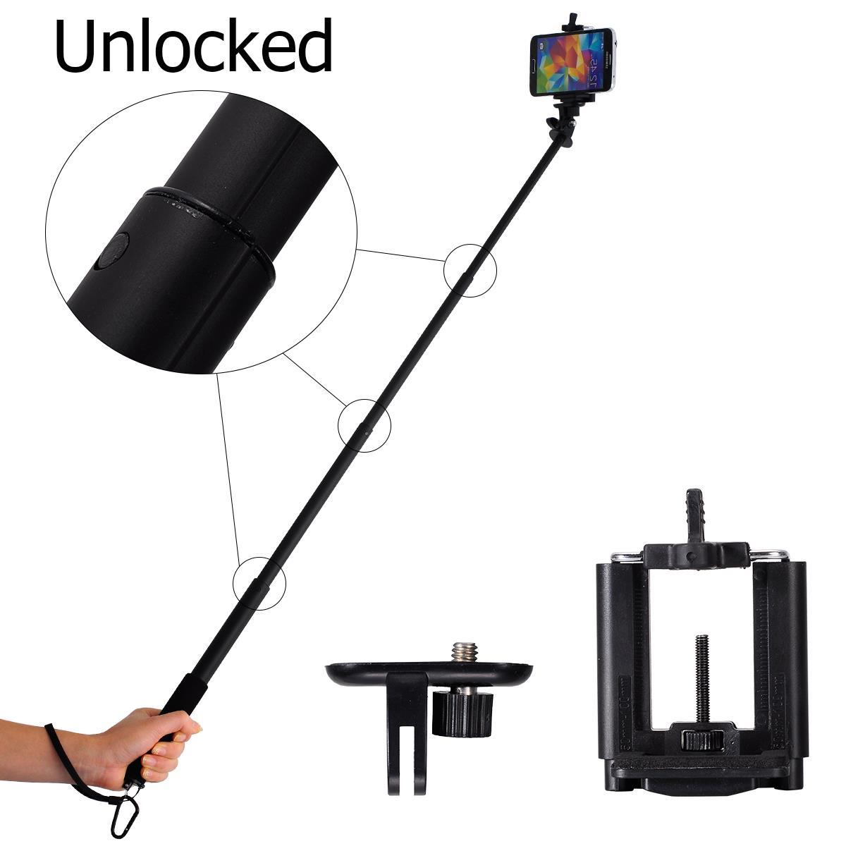 Xcsource-Monopod-Phone-Stick-Support-Pole-bluetooth-stick-extendable-tripod-for-camera-XC201-2