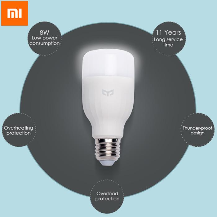 Xiaomi Yeelight LED - Chytrá žárovka světlo osvětlení bezdrává nastavení istage xiaomimarket  heureka