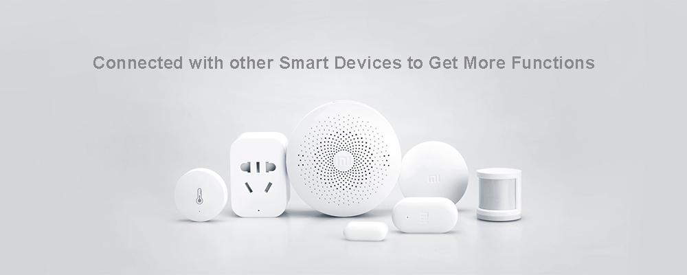 Xiaomi Mi smart temperature and humidity sensor chytrý senzor teploty a vlhkosti chytrá domácnost bluetooth mi gate chytrá brána istage xiaomi market hub teploměr vlkoměr wifi