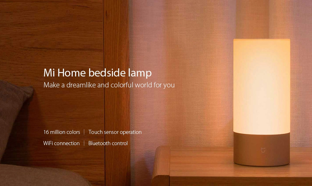 Xiaomi mi home bedside lamp nocni lampicka chytra istage rgb