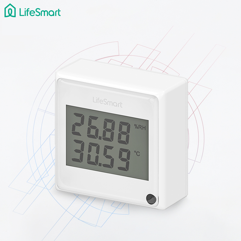 Lifesmart-Multifunctional-Environment-Sensor-Monitor-Light-Temperature-Humidity-Phone-Realtime-View-Remote-Control-by-APP-433MHZ