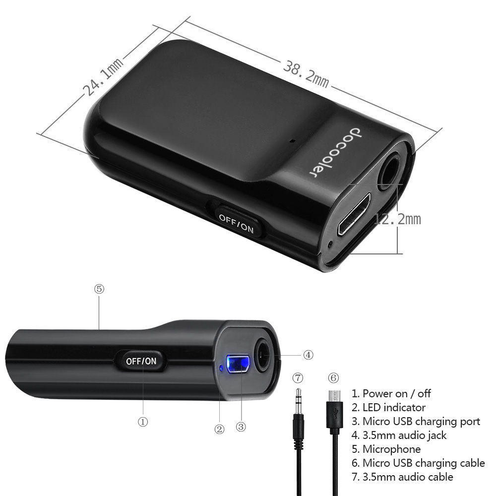 Docooler-Bluetooth-Receiver-Hands-free-Car-Kits-3-5mm-Stereo-Music-Receiver-for-Audio-Streaming-Home-1