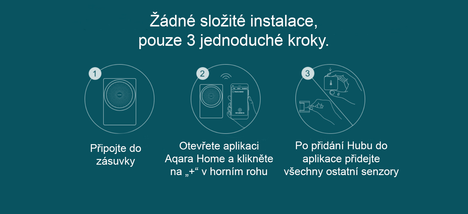 Xiaomi Aqara Hub Smart home instalace