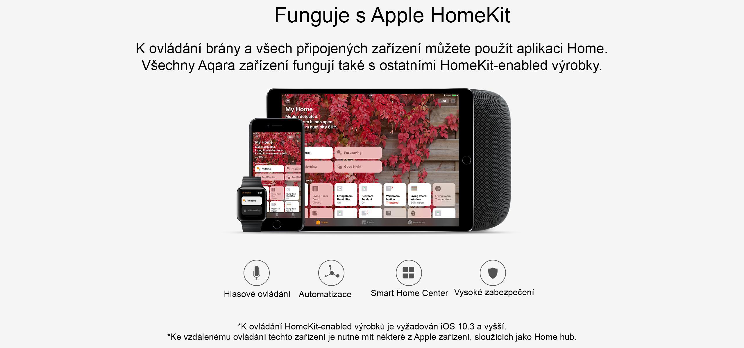 Xiaomi Aqara Hub Smart home zabezpeceni domacnosti
