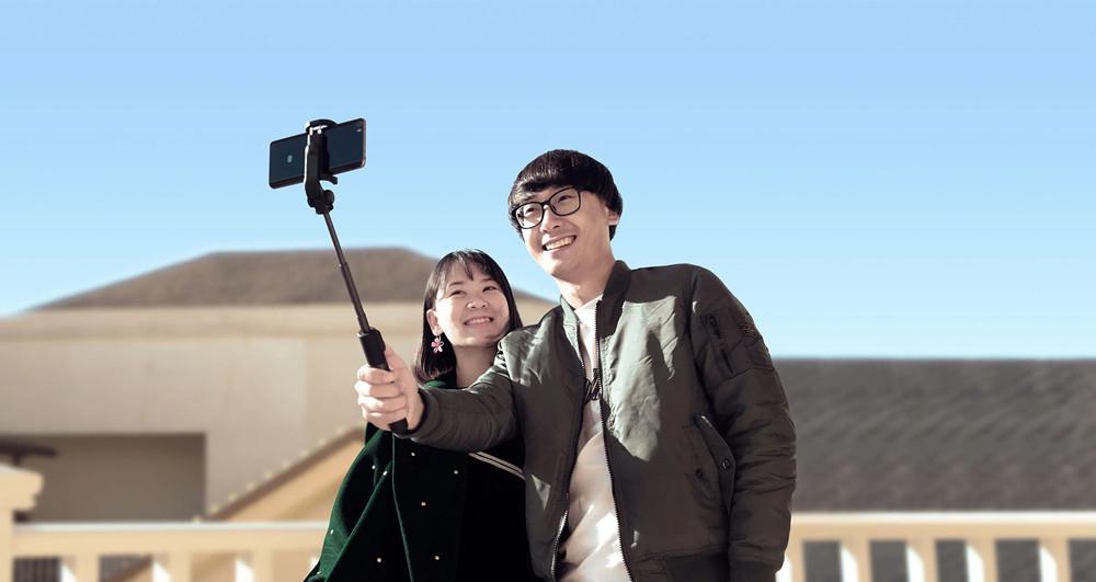 Xiaomi selfie tripod 2 - Bezdrátová selfie tyč nové generace stativ mobil gopro univerzální bluetooth istage xiaomimarket
