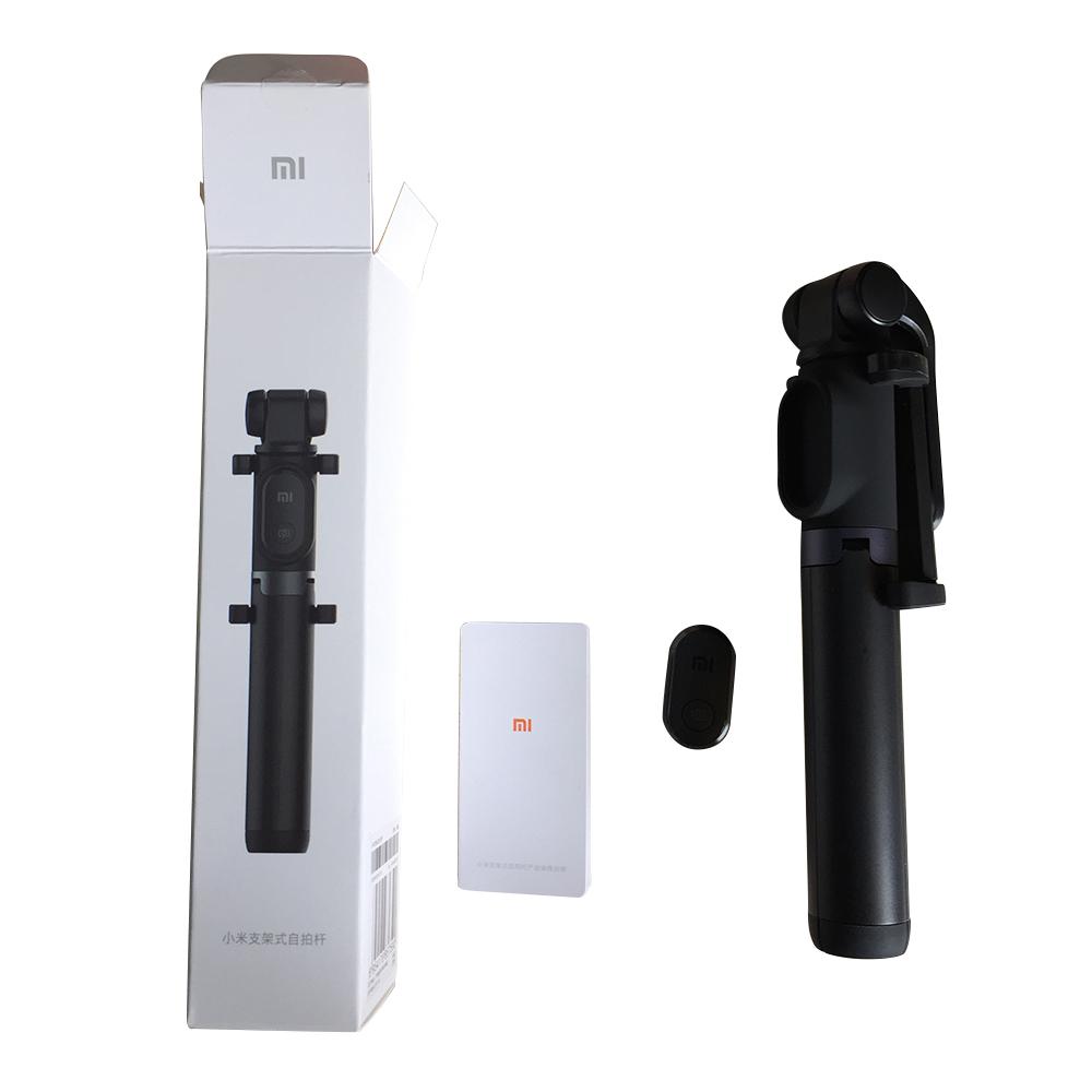 Xiaomi selfie tripod 2 - Bezdrátová selfie tyč nové generace stativ mobil gopro univerzální bluetooth istage xiaomimarket šedá