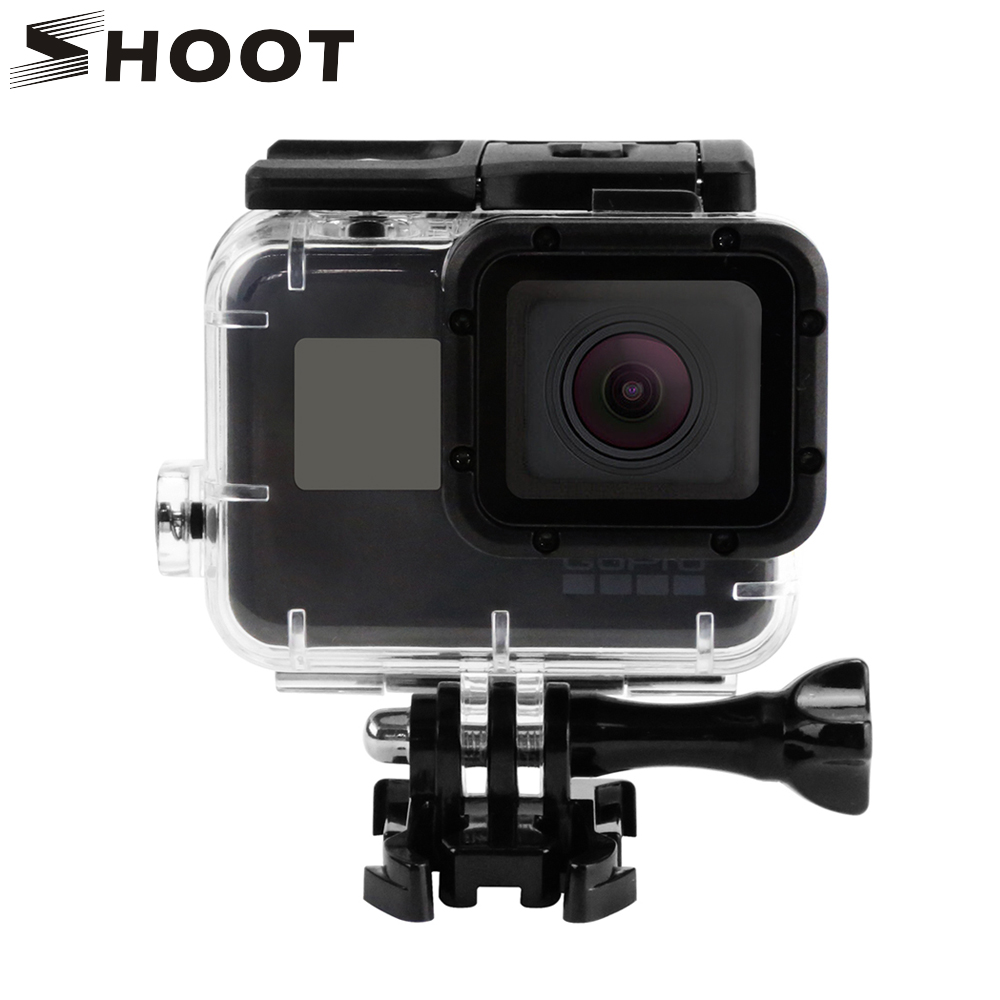 SHOOT-Replacement-Waterproof-Housing-Case-for-GoPro-Hero5-Black-Camera-Go-Pro-Hero-5-Accessories