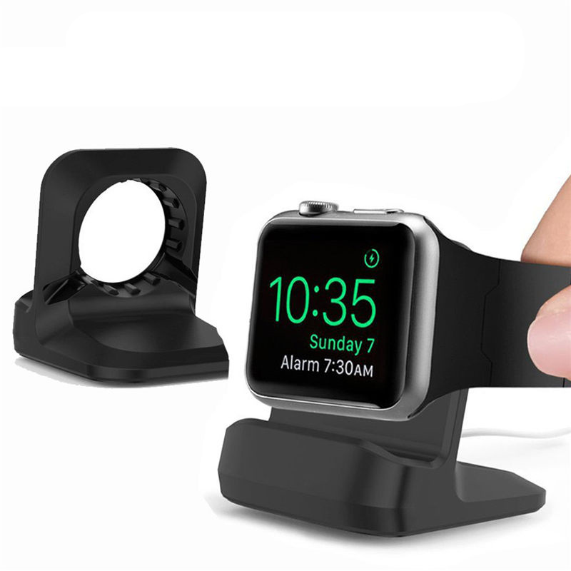 Brand-New-1pcs-TPU-Charging-Stand-Dock-Holder-For-iWatch-Station-Mount-Bracket-Cradle-For-Apple