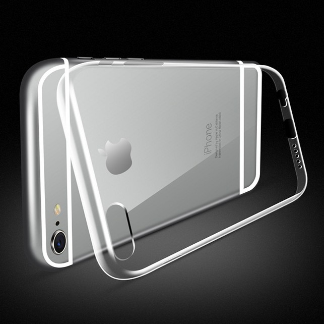 For-i6-4-7-Ultra-Thin-Transparent-Classic-Arc-Clear-Hard-Back-Case-For-iPhone-6
