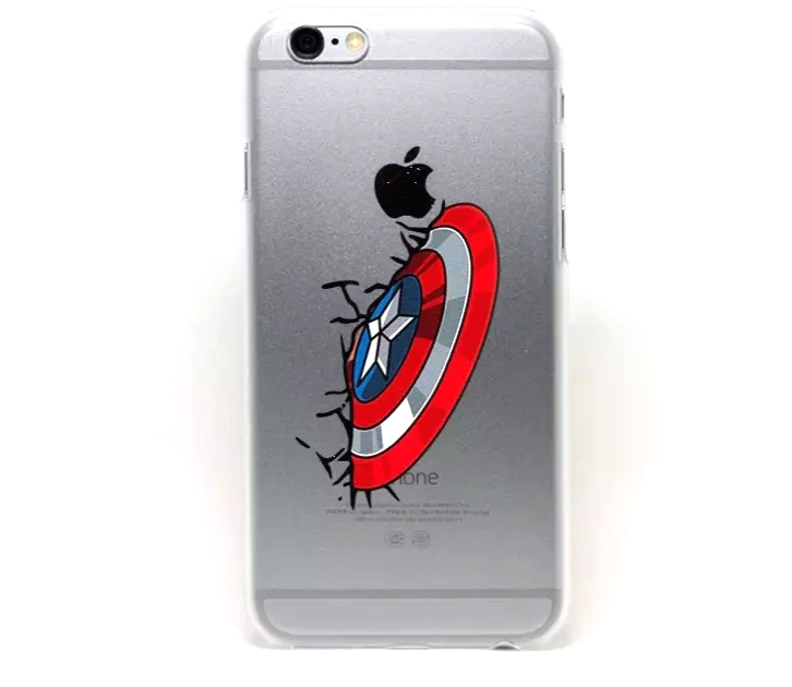 Avengers-Iron-Man-Captain-America-Thor-Hulk-Spider-Man-Soft-TPU-Case-Cover-For-IPhone-6